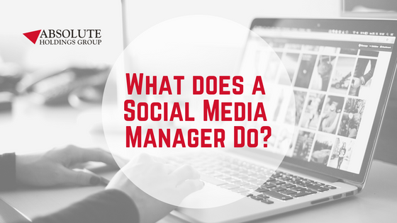 What Does a Social Media Manager Do?