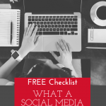 What exactly does a social media manager do on a daily, weekly, monthly basis? Here are our thoughts, and a FREE checklist! #socialmedia #marketing #entrepreneur #smm