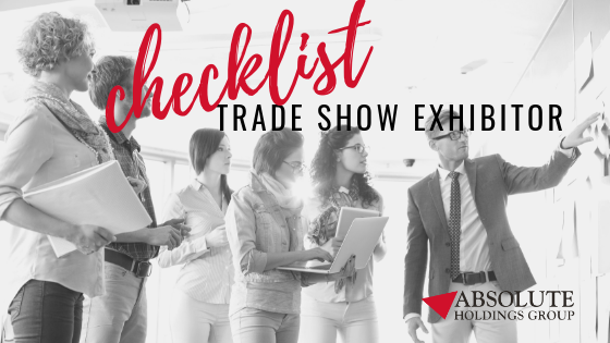 Trade Show Exhibitor Checklist