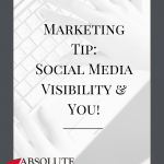Are you wondering when you should get visible in your business on social media? NOW is the time! It doesn't have to be perfect, it just needs to offer value to your audience. By driving value you will help create your brand authority and establish YOU as the subject matter expert. So what are you waiting for... get visible today! #socialmedia #marketing #b2bmarketing