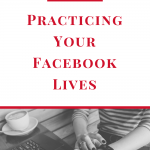 Are you wanting to go live on Facebook, but nervous about getting it right? Here is a quick tip to help you practice until you feel comfortable going live! #socialmedia #marketing #facebooklive