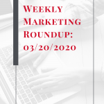 Here is our take on the top marketing news this week and our thoughts on how to leverage it to benefit YOUR organization! #marketing #b2bmarketing #socialmedia #b2cmarketing